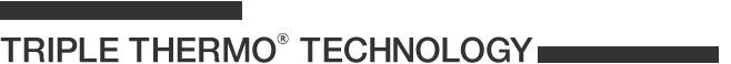 완벽한 무수분 조리를 실현한 TRIPLE THERMO™ TECHNOLOGY(트리플써모테크놀러지)