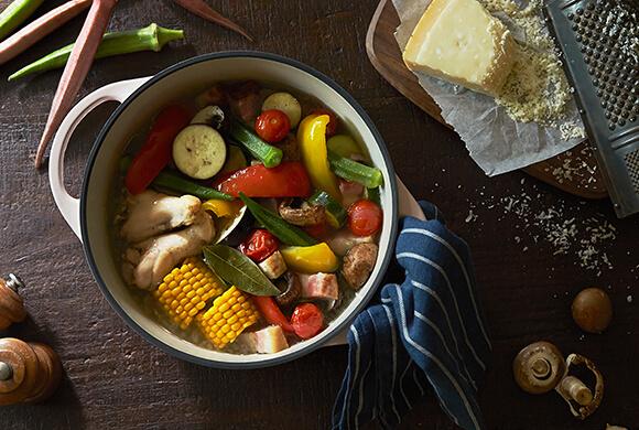 目指したのは、世界一、素材本来の味を引き出す鍋。イメージ写真